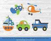 Cute Vehicle Cut Outs / C...