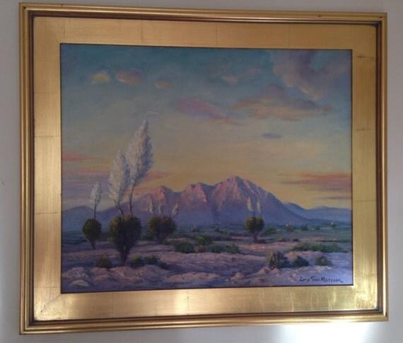Wickenburg Arizona Plein Air Painting by Palm Springs California Artist