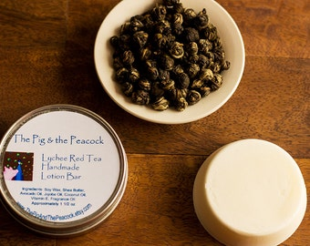 Lychee Red Tea Lotion Bar // Gifts for Her