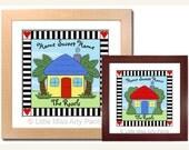 Personalized Print - Happy Home Design