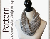 French Twist Cowl - Crochet Pattern (PDF) - INSTANT DOWNLOAD