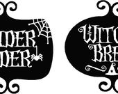 Vinyl Decals (Spider Cider)