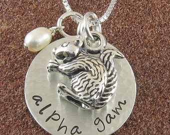 Hand Stamped Custom Jewelry By Chipmunkhollow On Etsy