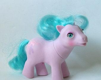 Vintage Baby Half Note Beddy-Bye-Eye Baby My Little Pony Hasbro 1986