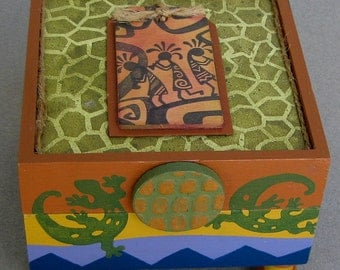 Kokopelli  Keepsake Box