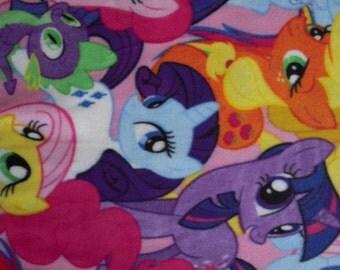 My Little Pony Fleece No Sew Blanket