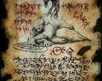 cthulhu larp ASTRAL SORCERY Necronomicon demon occult dark art magick