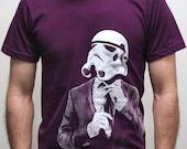 Storm trooper Smarttrooper - Mens t shirt ( Star Wars / Storm trooper t shirt )