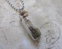 Bottled Groot pendant