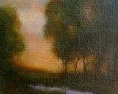 Original Oil Painting Landscape REMEMBER 8x10 by Janelle Goodwin