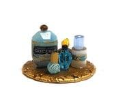 Miniature Perfume Vanity set 18
