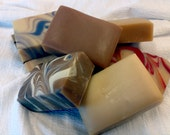 SAVE-6 Bars of Vermont made Goat Milk Soap, you choose the scent/handmade soap/unisex gift/cold process soap