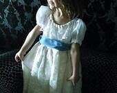 Vintage lace Tea Length, A Flower Girl Dress by Rosanna Hope for Babybonbons  Pageants, Communion, Tea Parties