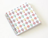 Small Coupon Organizer with 14 Pockets - Pre Printed Labels Included - little mushrooms