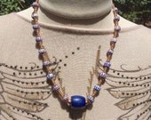 African Dogon Trade Bead Necklace New Collection no 6 by Kate Drew-Wilkinson