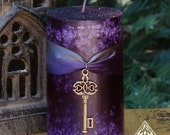 Key to the Crossroads Hekate Pillar Candle