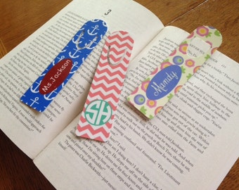 Personalized Book Mark