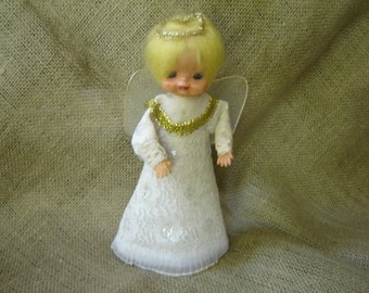 Vintage Christmas Angel Made In Japan 1960s Christmas Tree Topper