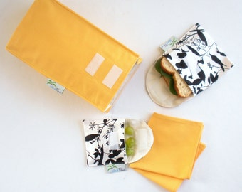 The Waste Free Lunch Bag Pdf Pattern Simple Stylish Eco