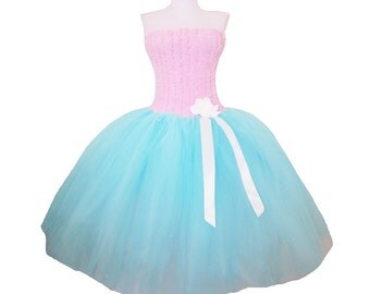 One of a Kind Cotton Candy Dress flirty Sweet and Sugary