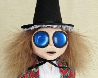 Gwyneth - A Traditional Welsh Lady Art Doll