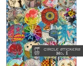 Circle Stickers No. 1