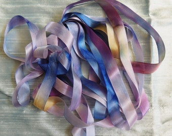Vintage Rayon tape in Pansy colorway 6 yards