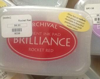 Brilliance Pigment Ink Rocket Red