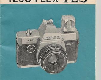 Vintage Ricoh 126C-Flex TLS Instruction Booklet