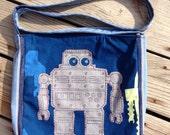Grey Robot Bag