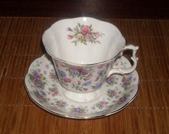 MAYFIELD-ROYAL ALBERT Tea Cup and Saucer