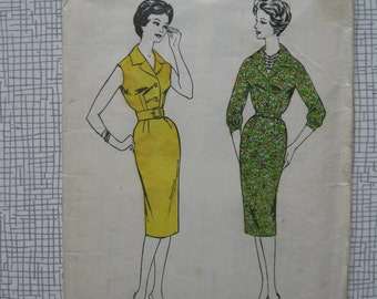 "1960s Dress - 36"" Bust - Blackmore 9229 Sewing Pattern"