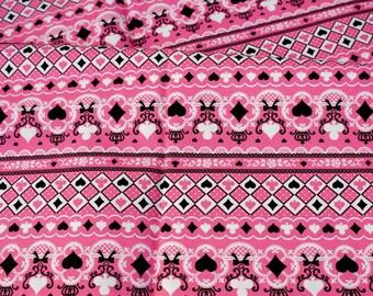 LAST PIECE Trump Print Lolita fabric 88 cm by 106 cm 34.5 by 42 inches  (HAKO11)