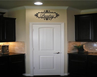 Pantry with Ornate Frame