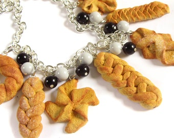 Bread & Pastry Charm Necklace