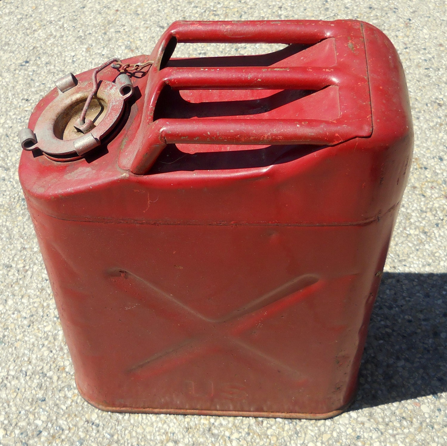 Industrial Mash Jerry Can Large Steel Gas Metal Military Can