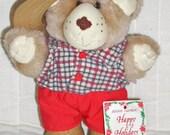 VINTAGE--Boone Furskins Teddy Bear