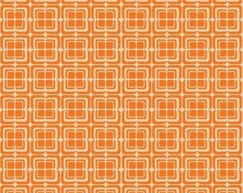 Riley Blake • Ashbury Heights • orange Cotton Fabric 0.54yd (0,5m) 001851
