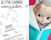 Blythe Doll carrier case bag sewing pattern