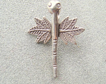 Charms ,Thai, Silver, DRAGONFLY, GARDEN, Bug, INSECT,1 Piece