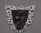 Druzy Fractal necklace