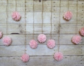 DIY Blush Pink Tissue Paper Flower Wedding Garland, Photography Prop, Party Decoration