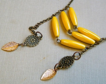 Wheat Field - Boho Chic Style Necklace