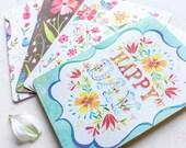 Greeting Card Set - Birthday