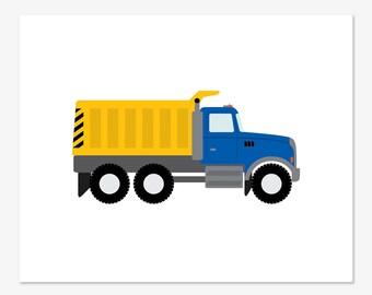 Dump Truck Print