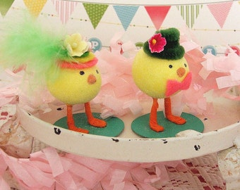 Easter Chick Couple