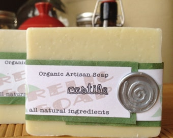 Castile Herbal Infusion Organic Artisan Soap