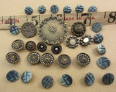 interesting group of antique buttons