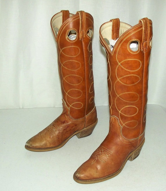 vintage acme cowboy boots size 5 a narrow by