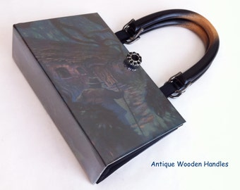 Harry Potter and The Half Blood Prince Book Purse - Harry Potter Collector Edition Book Purse - Harry Potter Book Cover Handbag